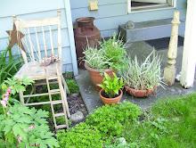 The Fairies Garden Chair