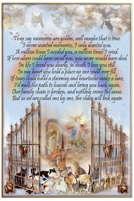 rainbow bridge poem Rest In Peace Poems For A Friend