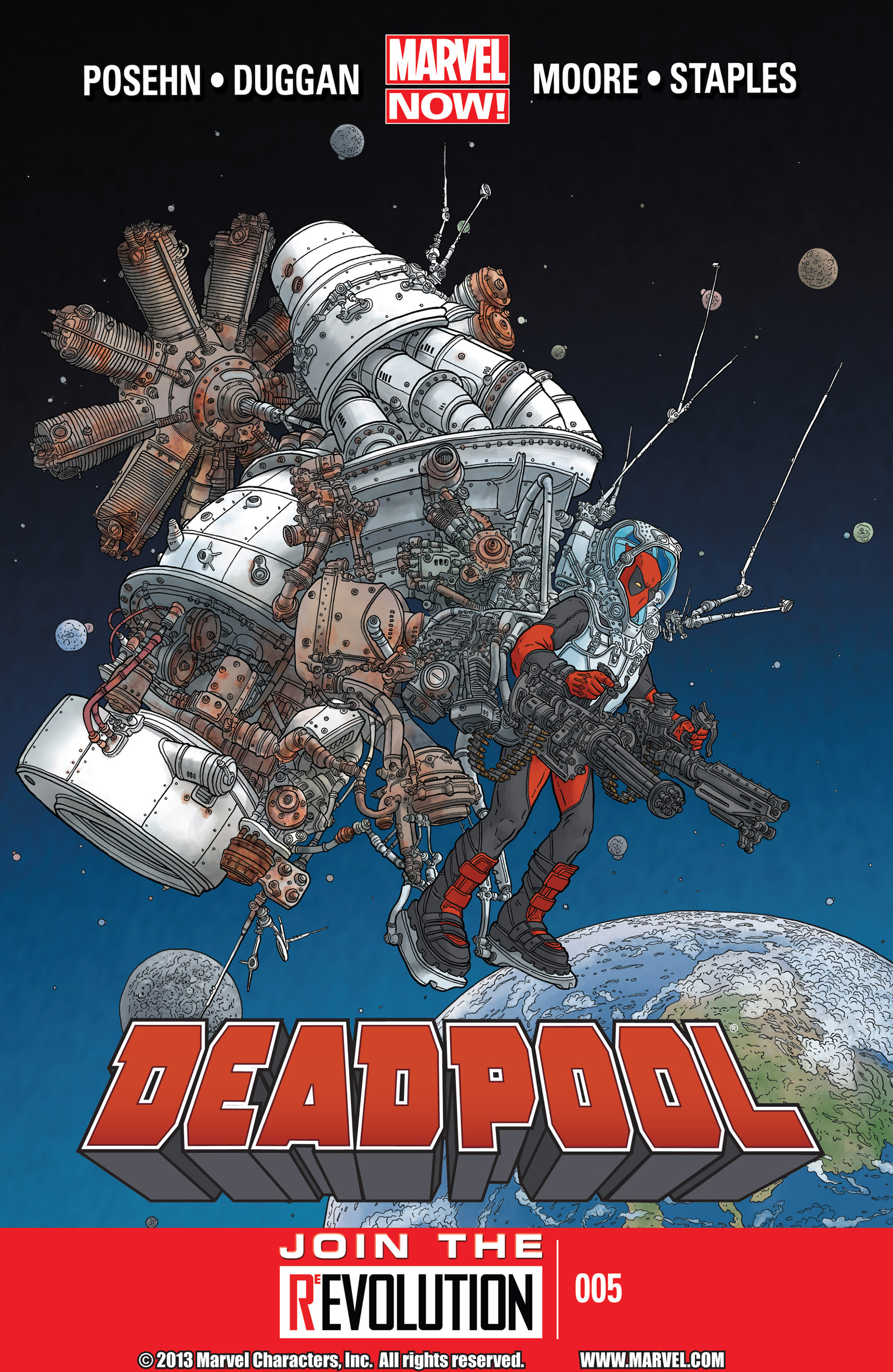 Deadpool (2013) issue 5 - Page 1