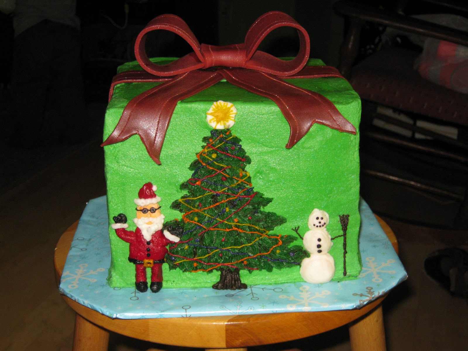 Cake Decorations Montgomery Al : Adam s Best Cake Decorating: Oh Christmas scene, oh ...