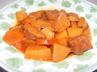 Mijoté de boeuf à l'érable et aux légumes du potager Rago%C3%BBt+de+boeuf+%C3%A0+l%27%C3%A9rable+mijo