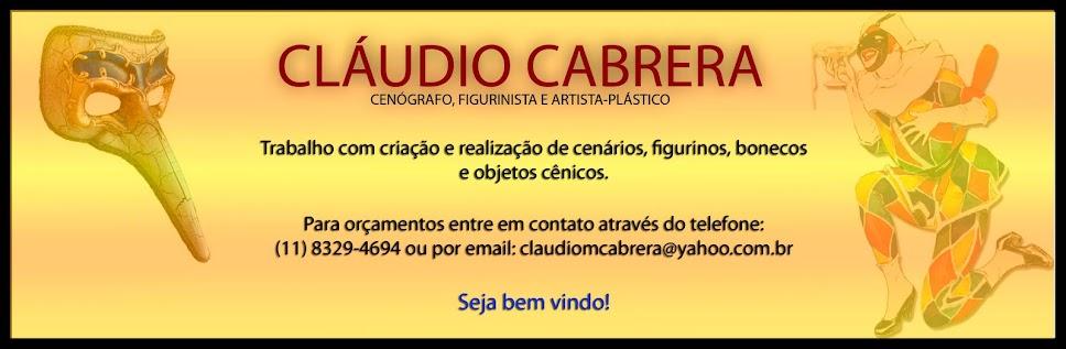 CLÁUDIO CABRERA