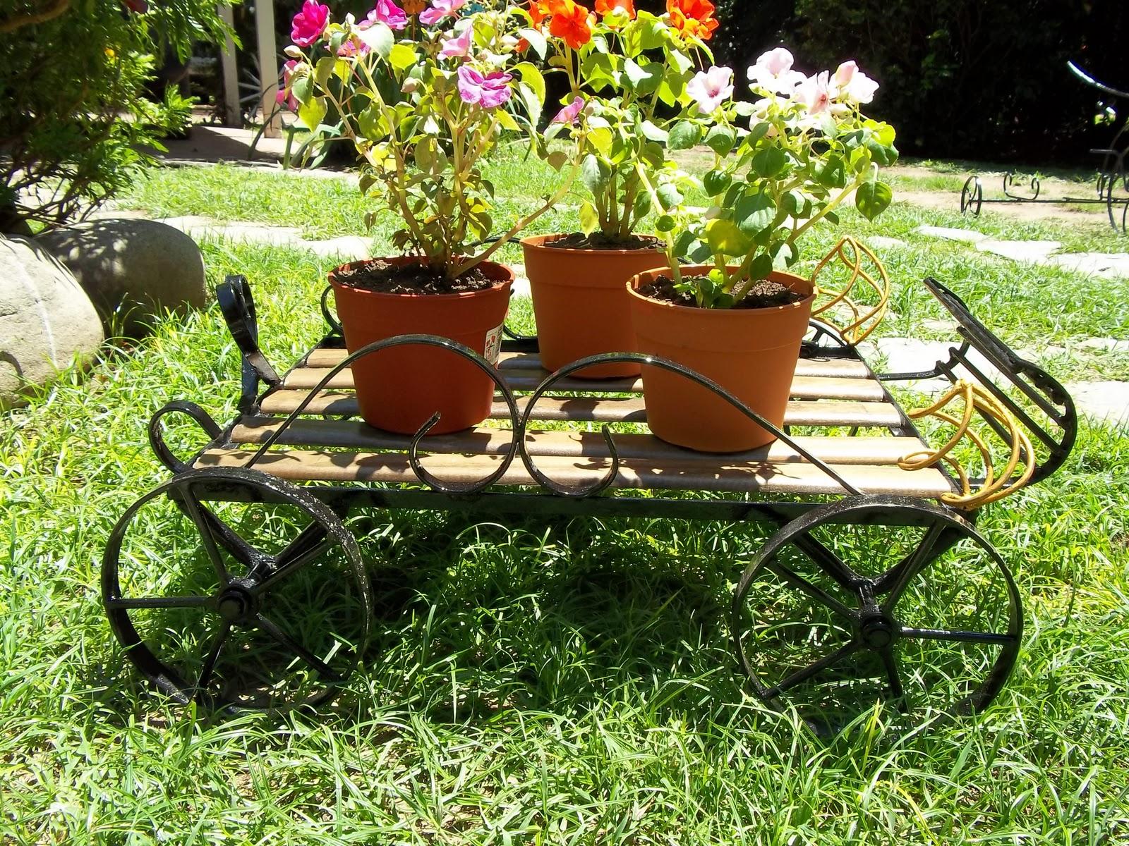 Herreria artistica articulos de jardin - Cosas para el jardin ...