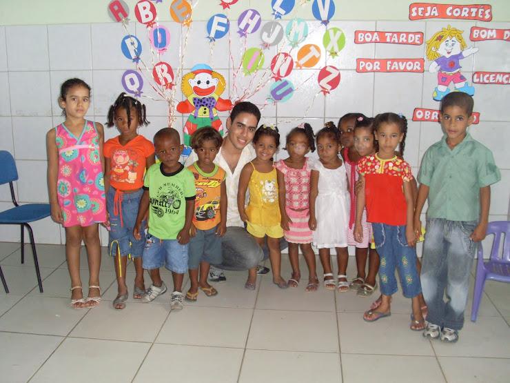 Alunos da Escola Juviniano Machado