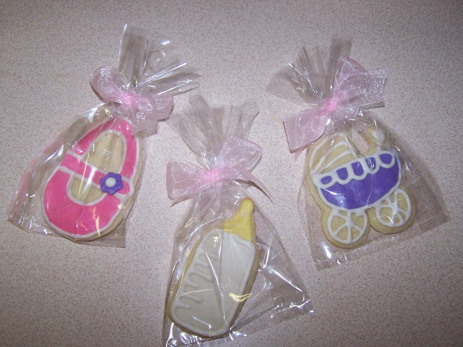 julie daly cakes baby shower cookie favors