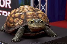 creepy CGI turtle, Yogi Bear