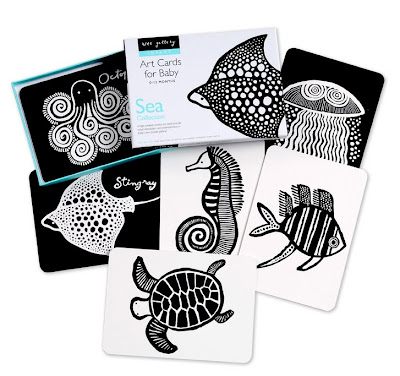 Love the fancy black-and-white pattern on each animal.