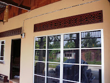 REKAAN MOTIF PUCUK KACANG DARI MASJID DEMAK