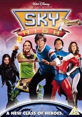Filme Poster Sky - Super Escola de Heróis DVDRip Dublado