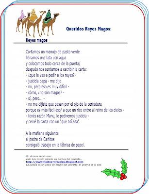 Reyes Magos A Mi Hijo Manu Cortamos Un Manojo De Pasto Verde Llenamos