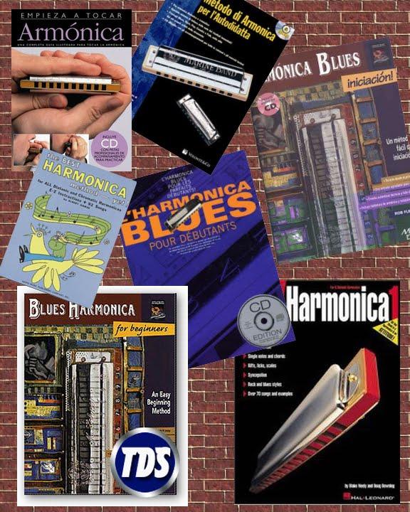 Pack libros Para Armonica Blusera lesson PDF