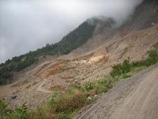 Los Chorros Landslide