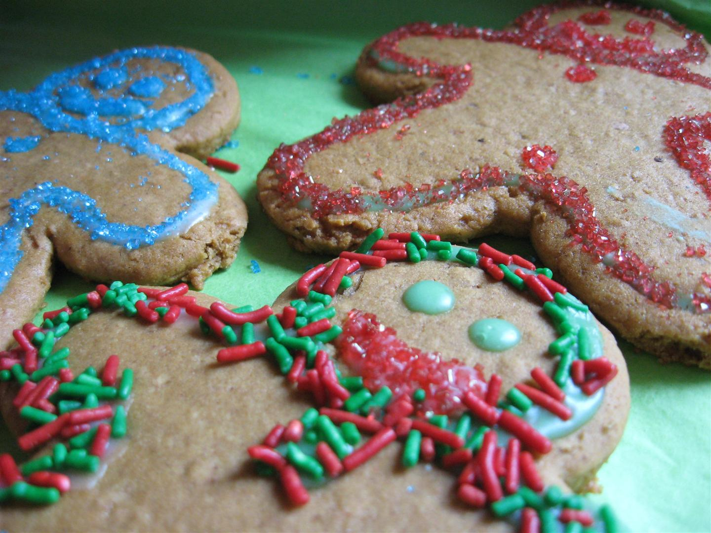 Kitchen Grrrls.: Orange Soft Gingerbread Cookies