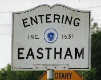 Eastham, MA, Sign