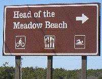 Head of Meadow Beach in Truro