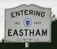 Eastham, Cape Cod, MA sign