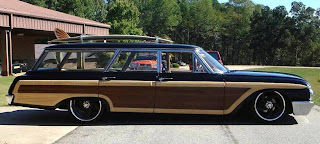 Custom 1962 Ford Country Squire Lowrider Wagon