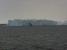 Caving Iceberg