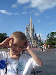 Gabey at Disney World