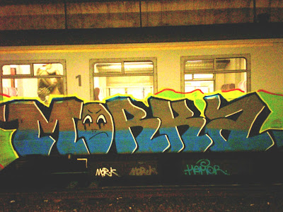 Morka graffiti