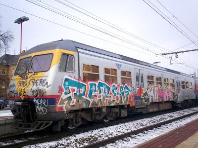 beren train graffiti horme