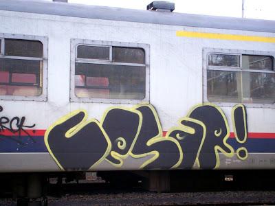 Cesar graffiti
