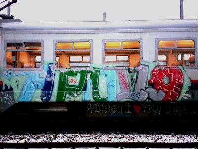 apollo fmk picsou rke CREAM off train graffiti