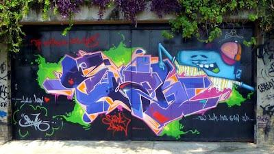 graffiti from Santa Teresa Rio de Janeiro