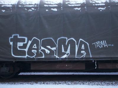Tasma Freighttraingraffiti