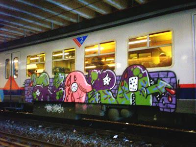 ALORA graffiti writer
