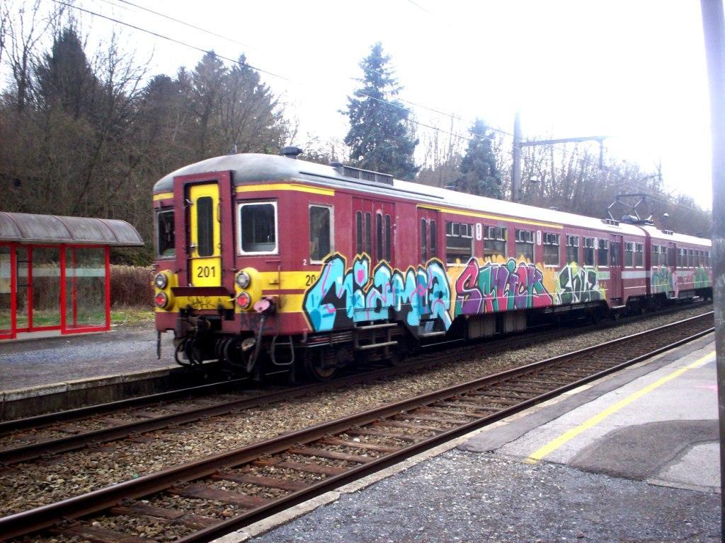 ART ON TRAIN Graffiti on trains