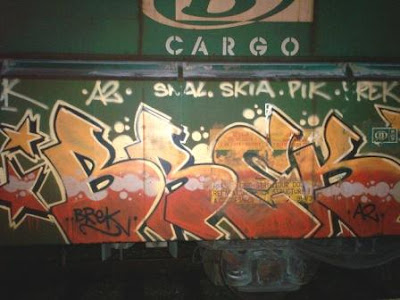 Brek graffiti