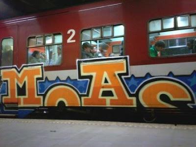 Moas graffiti crew