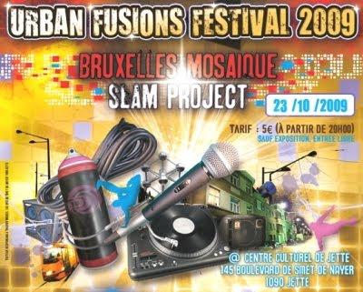 Le Projet Inter quartier du Centre Culturel de Jette propose sa première édition de Urban Fusions Festival