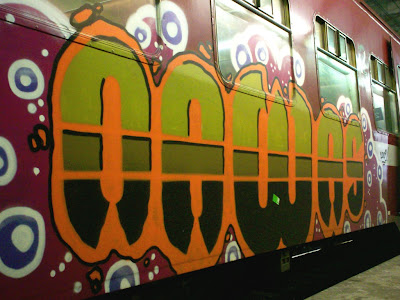 Nawas train graffiti artist