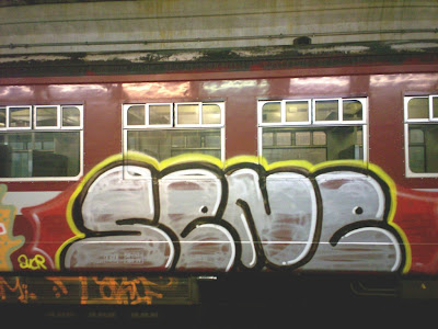 sene train graffiti