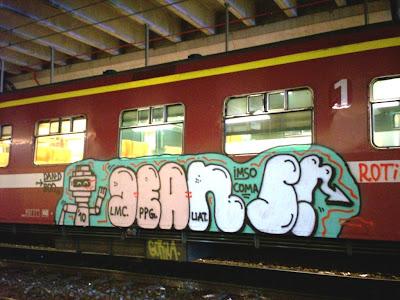 Jeans graffiti