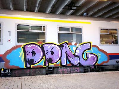 Pipe graffiti