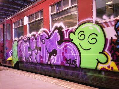Belgian graffiti belgium