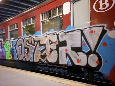 Oster graffiti
