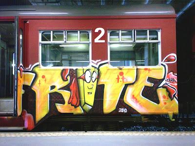Frite graffiti