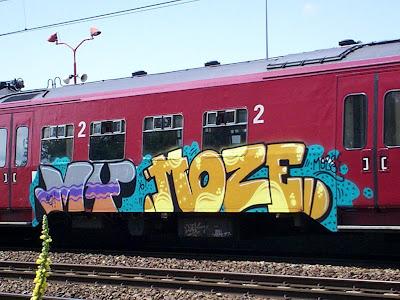 Moze graffiti artist