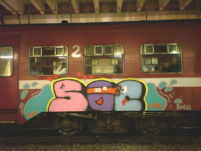 SOC CREW spray can artist