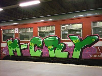 Mcry graffiti