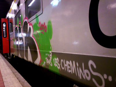 cheminots train