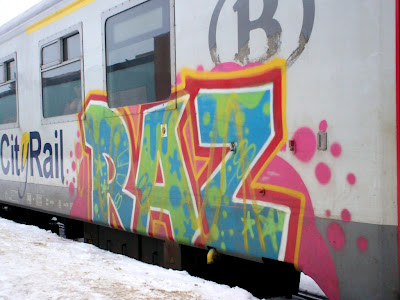 RAZ graffiti