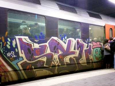 Eks graffiti
