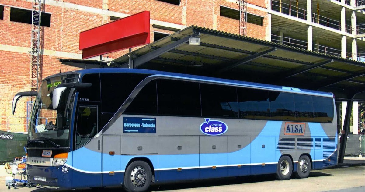 Empresas autobuses alsa amplia su flota setra - Autobuses larga distancia ...