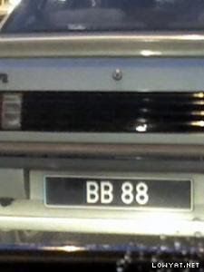 BB+88 Koleksi Nombor Plat Kereta Tercantik Dan Termahal Di Malaysia