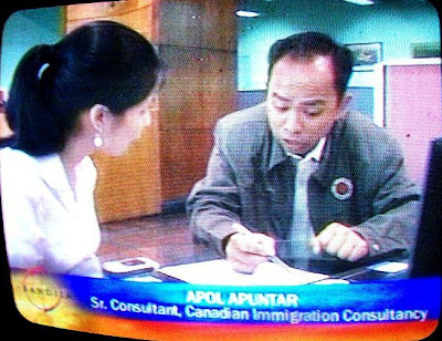 Apol Aputar at ABS-CBN Bandila